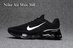 sports shoes 18906 a4c4a Explosion models - Scanning Nike Nike Air MAX 360 Drop Nanotechnology Men  and women shoes Black