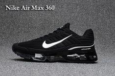 Explosion models - Scanning Nike Nike Air MAX 360 Drop Nanotechnology Men  and women shoes Black add8f1cc4