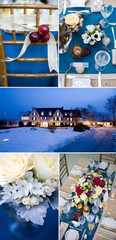 Something Blue | Maine Winter Wedding by Maine Seasons Events and Corbin Gurkin.