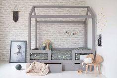 Little Dreamers Bedhuisje Finn Handmade Furniture, Kids Furniture, Girls Bedroom, Bedroom Decor, Baby Boy Rooms, Awesome Bedrooms, Kid Spaces, Kidsroom, New Room