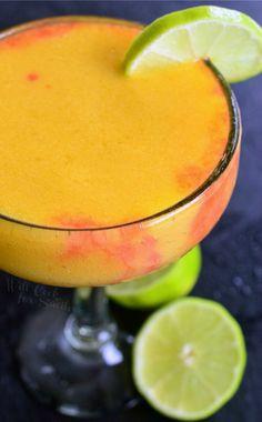 Sunset Margarita (Mango Pineapple Margarita)Really nice recipes.  Mein Blog: Alles rund um die Themen Genuss & Geschmack  Kochen Backen Braten Vorspeisen Hauptgerichte und Desserts # Hashtag