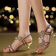 Mujer-Tacón+Stiletto-Confort+Innovador+Zapatos+del+club-Sandalias-Boda+Vestido+Fiesta+y+Noche-Microfibra-+–+USD+$+80.98