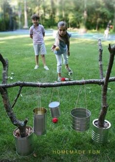 A little #olden day fun for the kids! They can make this themselves! #Wakefieldsway #play #outdoor