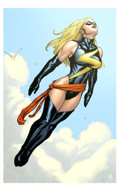 One of the most powerful women in marvel history a has gone trough a lot but is still now captain marvel