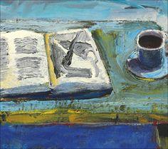 Richard Diebenkorn - Still Life with Book, 1958