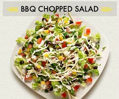 Fresh and delicious, this BBQ Chopped Salad is the perfect pairing with our CPK Crispy Thin Crust BBQ Chicken oven-ready pizza. Salad Recipes Video, Salad Recipes For Dinner, Dinner Salads, Healthy Salad Recipes, Chicken Recipes, Ready Pizza, California Pizza Kitchen, Chicken Spices, Salads