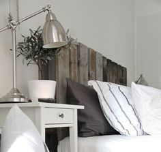what can you do with old pallets: this is exactly what I want to do in my room; YAY!