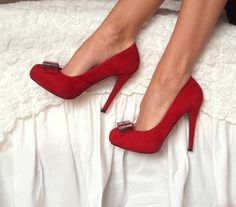The elusive basic red heel but not stripper height, not patent leather, no weird straps, no pointy toe, peep or closed, suede or leather...why is this so hard to find in the non soccer mom or stripper version?!