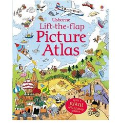 Lets children explore the world one flap at a time. This atlas features a page for each continent. It allows children to discover the animals, buildings, foods and cultures that they would find there.