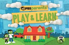 PBS Parents Play and Learn app - free on Android and iOS, awesome for preschoolers!