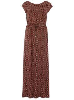 Maxi-robe à imprimé mosaïque