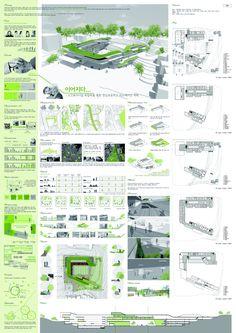 이미지를 클릭하면 창이 닫힙니다. Landscape Architecture Model, Architecture Concept Diagram, Architecture Sketchbook, Architecture Panel, Architecture Portfolio, Landscape Design, Architecture Design, Presentation Board Design, Architecture Presentation Board