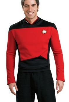 Star Trek The Next Generation Deluxe Shirt Costume