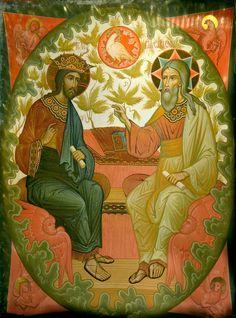 Life Of Christ, Jesus Christ, William Blake Art, Trinidad, King Jesus, Religious Icons, Catholic Art, Orthodox Icons, Sacred Art