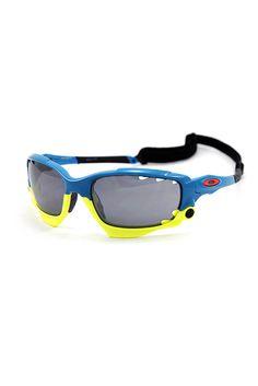 Oakley แว่นกันแดดกีฬาเปลี่ยนเลนส์ได้ Racing Jacket Special Edition Fathom Collection เฟรม Pacific Blue เลนส์2ชุด Black Iridium + Clear | LAZADA THAILAND created by #ShoppingIS