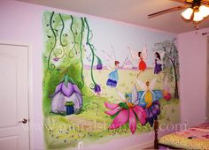 Why Love Painting Fairies Murals Missy 23