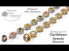 Caribbean Jewels Bracelet (Tutorial) - YouTube