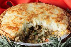 Turkey Shepherd's Pie {Thanksgiving leftovers} #thanksgiving #thanksgivingleftovers #turkey #shepherdspie