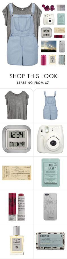 """""""i'm in the passenger seat, you're in control"""" by kristen-gregory-sexy-sports-babe ❤ liked on Polyvore featuring H&M, Influence, La Crosse Technology, Fujifilm, Art Classics, Kocostar, Korres, Acqua di Parma and philosophy"""
