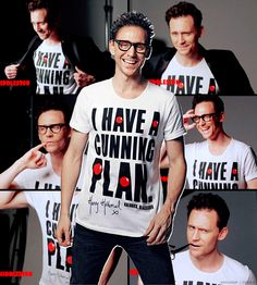 Tom for Red Nose day