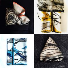 """Perfect pocket silks for him & her. And they make perfect gifts for a stylish (or maybe not so stylish) Dad! """"Runners"""" on silk twill with hand rolled edges £55 """"Tree"""" on silk £35 Click the link in bio for more info. #luxuryscarf#textileart #dad #happyfathersday #fathersdaygift #gift #fathersdaygifts #giftideas #mensfashion #gifts #giftsfordad #menswear #giftsforhim #fathersday #fathersday21 Gifts For Dad, Fathers Day Gifts, Hand Roll, Pocket Square, Textile Art, Dads, Menswear, Mens Fashion, Silk"""