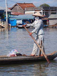 Kampong Chhnang on the Mekong River, Cambodia   Don Campolongo via Flickr