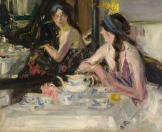 """""""Cecilia No.2"""", 1912 ~ Francis Campbell Boileau Cadell (Scottish, 1883 - 1937)"""