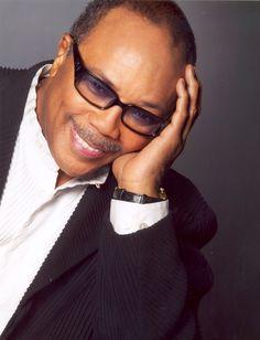 Quincy Jones. Musical genius.