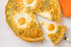 Ham and egg quiche
