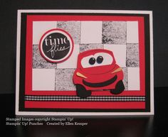 I got a request for Lightening McQueen (from the movie Cars  for those of you who might not have little kids) but was not very successful wi...