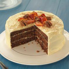 Cinnamon and orange carrot cake - Sainsbury's Magazine