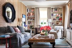 Ali Wentworth and George Stephanopoulos's New York Apartment : Celebrity Style : Architectural Digest