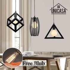 Goedkope Vintage led hanglampen lamparas colgante Voor Eetkamer ...