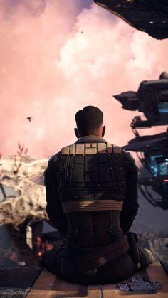 "masseffectscreenarchery:  "" This is [one of] my favorite place[s] on Kadara Port. Thanks Cdr. Shepard. """