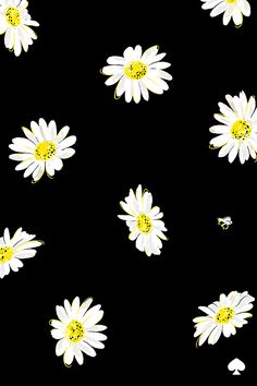 Kate Spade Looking Fresh as a Daisy See the rest of my phone wallpapers here!