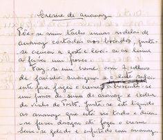 Creme de Ananaz - As Receitas da Avó Helena e da Avó Eduarda