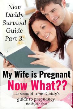 This New Daddy Survival Guide is full of great tips for new dads. Not only how to support your wife when she's pregnant but also some insight in what to expect in the weeks ahead and how to handle it. A Must-read for all new daddies!
