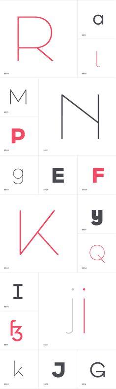Galano Classic Typefamily on Behance Web Design, Typo Design, Poster Design, Typographic Design, Typography Layout, Typography Letters, Typography Poster, Graphic Design Typography, Packaging Inspiration