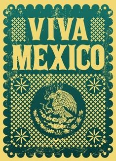 Illustration of Vintage Viva Mexico - mexican holiday vector poster - Grunge effects can be easily removed vector art, clipart and stock vectors. Image Vector - Vintage Viva Mexico - mexican holiday vector poster - Grunge effects can be easily removed Mexican Graphic Design, Mexican Designs, Mexican Holiday, Mexican Party, Sketch Manga, Mexican Pattern, Mexico Culture, Retro Poster, Poster Vintage