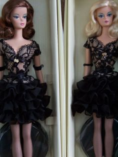 Trace of Lace Barbie doll. Brunette and Blonde versions | Barbie Collector