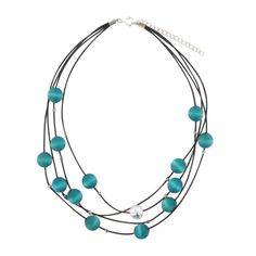 aarikka Turquoise Vilkas Necklace $43.00