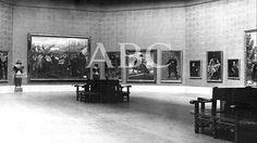 Madrid, 14/12/1923. Sala de Velázquez del Museo del Prado recién inaugurada