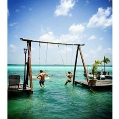Happy Friday - Bacalar Lagoon in Mexico #weekendrelaxing #designfabulousau