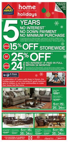 Kroger weekly ad december 30 january 5 2016 Ashley home furniture weekly ad