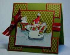 SC203 Cup of Cheer Snowman by flowergal36 - Cards and Paper Crafts at Splitcoaststampers