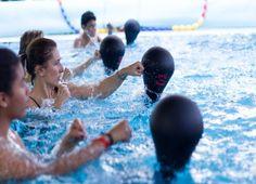 SparringBall per dimagrire in acqua con il Boxing splash