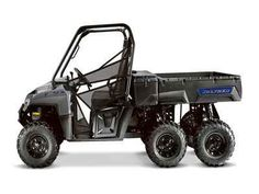 New 2017 Polaris RANGER 6x6 Avalanche Gray ATVs For Sale in Tennessee.