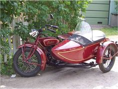 INDIAN & SIDE CAR