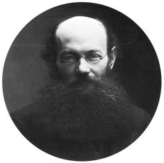 Peter Krapotkin, ca. 1870 Photographs of the famous by Felix Nadar | The Public Domain Review