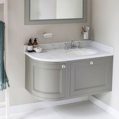 13 best corner vanity unit images small shower room small rh pinterest com